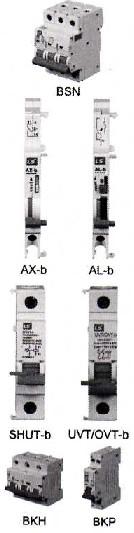 BSN|微型断路器(MCB)及其附件|LG