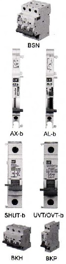 BKP |微型断路器(MCB)|LG