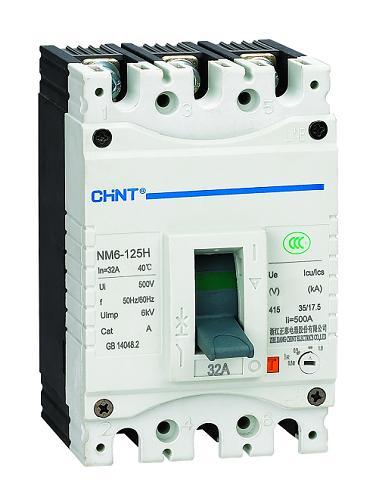 NM6-400H/3348 400A DC24V,NM6.NM6S系列塑料外壳式断路器,CHINT正泰电器
