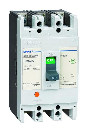 CHINT/正泰,NM1-630H/3268 500A,高分断型/电动/智能/式断路器,伟柏工业总代理