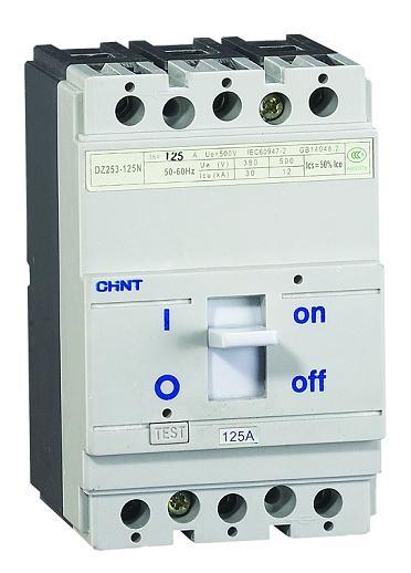 DZ253-630N/3301(报警) 630A,CHINT正泰电器