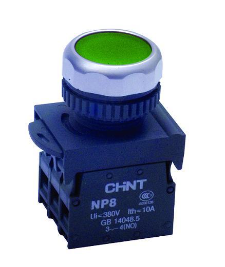 NP4-10GN 绿,NP4电子开关按钮,CNINT,正泰电器,国内一级代理商