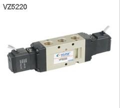 VZ5220,KLQD开灵,电磁阀,二位五通电磁阀,内部先导式电磁阀,国产气动电磁阀