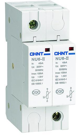 nu6-ii电涌保护器,chint正泰代理