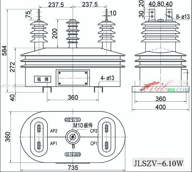 jlszv-10w 组合互感器,vabo电压互感器,vabo华波互感