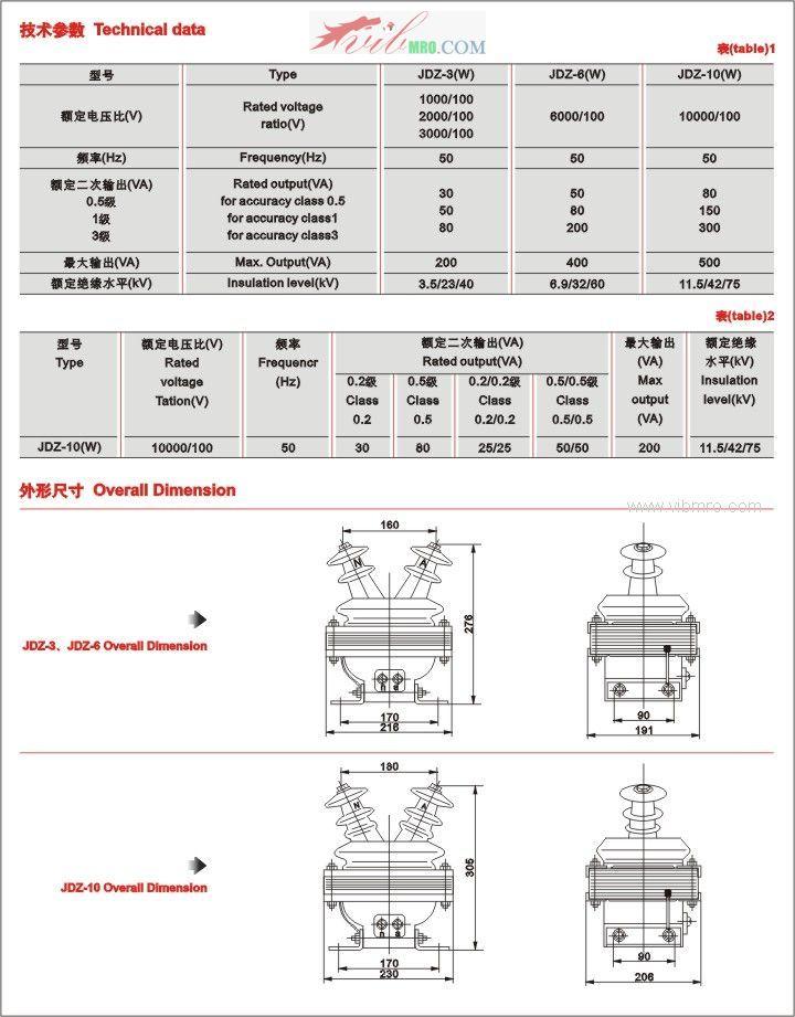 【jdz-6电压互感器】价格