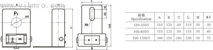 lmz-0.5w 户外电流互感器
