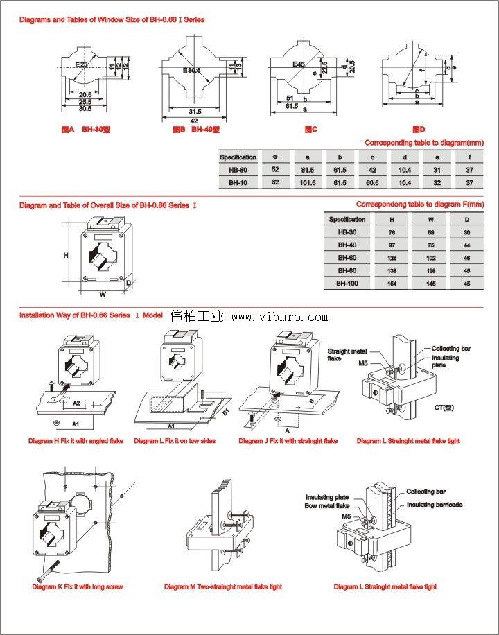 低压柜接线图图标注解