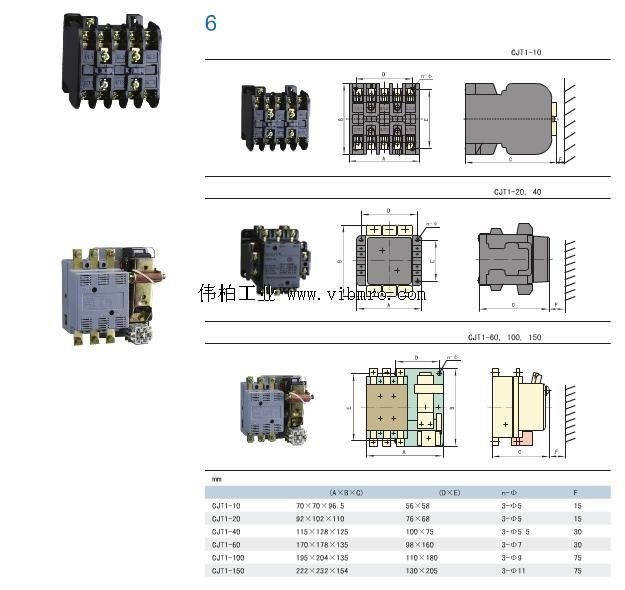 cjt1-150,cjt1交流接触器